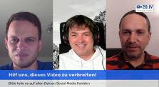 20:IV Live mit Ralf Ludwig, Markus Haintz und Michael Ballweg by zwanzig4.media